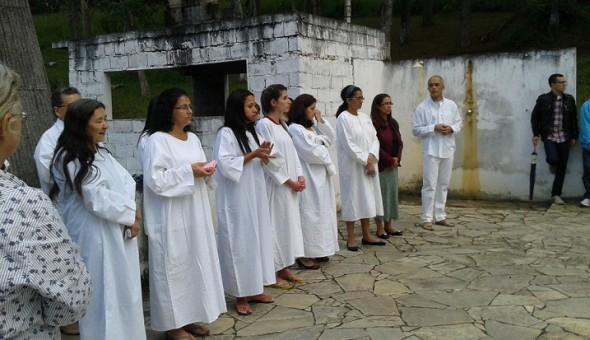 Batismo Candidatos ao batismo